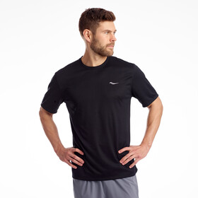 saucony Stopwatch T-shirt Heren, black
